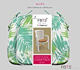 FBTS Prime Outdoor Chair Cushions (Set of 2) 16x17