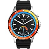 Fossil Hybrid Smartwatch - Q Crewmaster Black Silicone
