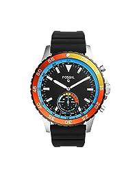 Smartwatch Híbrido Fossil Q Crewmaster FTW1124 Negro