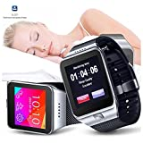 Indigi® Innovative SWAP Gear Bluetooth Smartwatch Wireless Phone For All iPhone and Galaxy SmartPhones