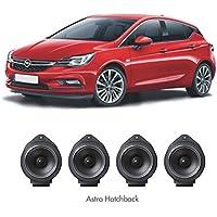 SOUMATRIX GHK1 Inspirit 8 Speaker Sound Upgrade Kit, Set of 4 (Black)