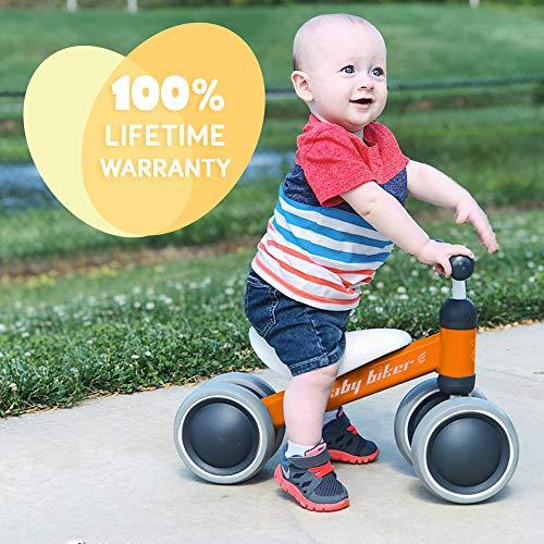 Kids Push Bike Bicycle for Children Ages 10-24 Months Indoor Outdoor Toddler Walk Bike Baby Balance Bike Kids