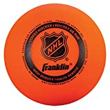 Franklin Sports NHL Street Hockey High Density Ball, Orange