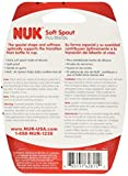 NUK Replacement Silicone Spout, Clear, Pack of 1