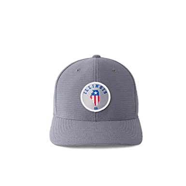 sports shoes 4ee42 260ef ... snapback 6b387 c3321  best travis mathew prairie state illinois fitted hat  grey l xl 14c22 c2f6e