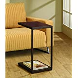 Coaster Contemporary Brown Snack Table