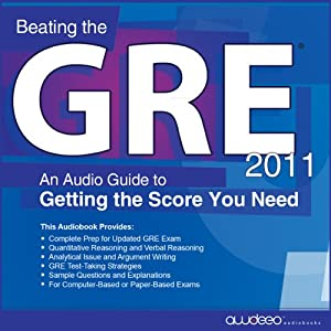 Beating the GRE 2011 Audiobook