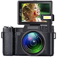 SEREE Digital Camera Camcorder Full HD 1080P 24...