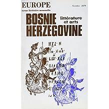 EUROPE #606 : LITTÉRATURE DE BOSNIE-HERZÉGOVINE