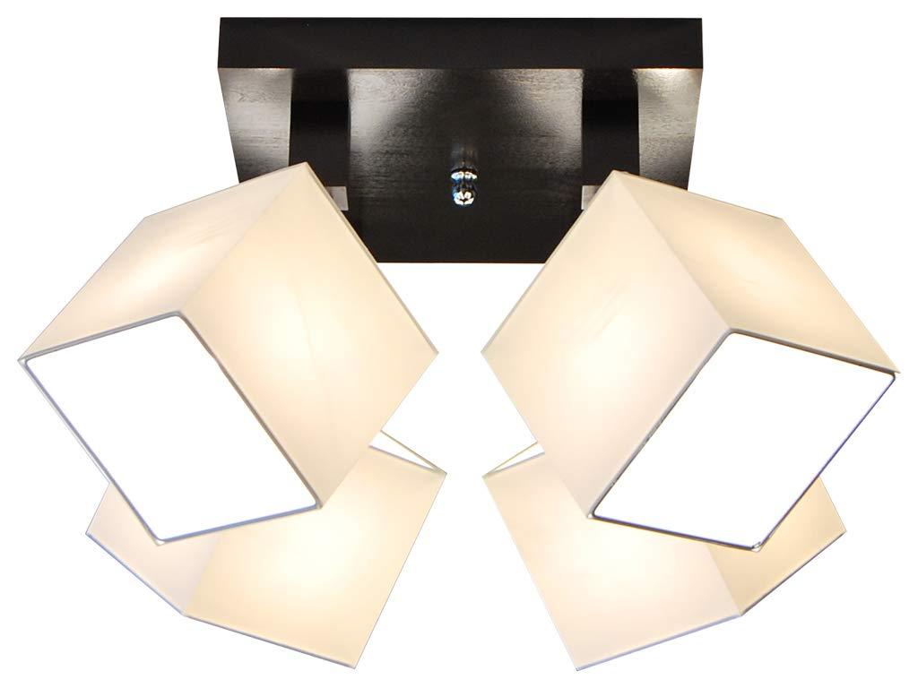 Deckenlampe - HausLeuchten LLS411DPR, Deckenleuchte, Leuchte, Lampe, Lampe, Lampe, 4-flammig, Massivholz a75fd4