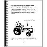 Case 1190 Tractor Operators Manual