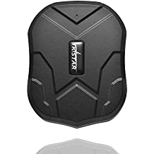 GPS Tracker Real Time Tracking Device Vehicle Car GPS Locator 5000mAh Battery Standby 90Days No Monthly Fee Web APP Tracking Powerful Magnetic Waterproof