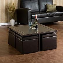 Southern Enterprises Nylon Storage Cube Table Set