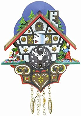 Trenkle Black Forest Clock Black Forest House