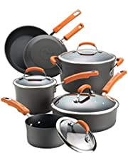 Rachael Ray Hard-Anodized Nonstick Cookware Set