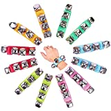 Amor Present Amor 16 PCS Wrist Bell Jingle Bells Musical Rhythm Toys For School Party(Assorted Colors)
