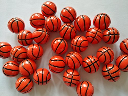 AMOBESTER Sime Charms Basketball Decorative Slime Beads For Arts Crafts Ornament by AMOBESTER