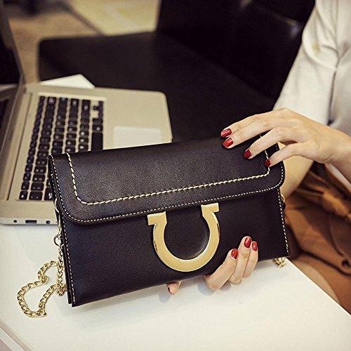 Aoligei Sacs à main de la femme, sacs de femmes casual, sac à un bandoulière petit paquet version coréenne fashion petit côté C