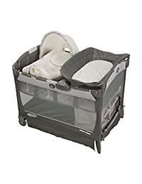 Graco Pack 'N Play Playard with Cuddle Cove Removable Seat, Glacier BOBEBE Online Baby Store From New York to Miami and Los Angeles