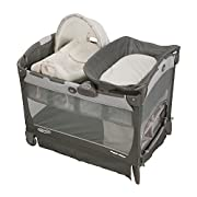 Graco Pack 'N Play Playard with Cuddle Cove Removable Seat, Glacier, One Size