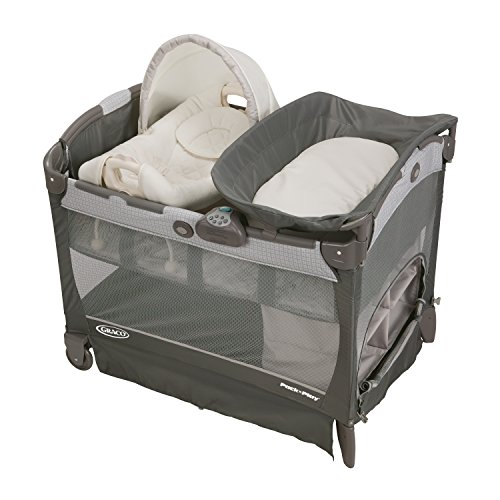 Graco Pack N Play Playard with Cuddle Cove Removable Seat, Glacier