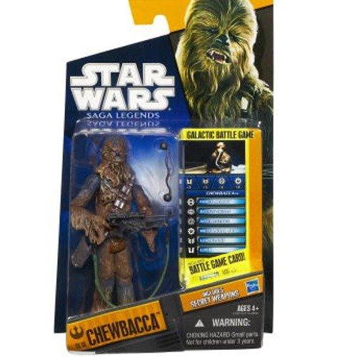 Hasbro – Star Wars – Saga Legends – SL 18 – Chewbacca – Figurine 9,5 cm (Import Royaume Uni)