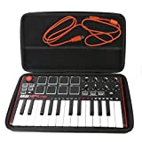 : Khanka Hard Case for Akai Professional MPK Mini MKII 25-Key USB MIDI Controller