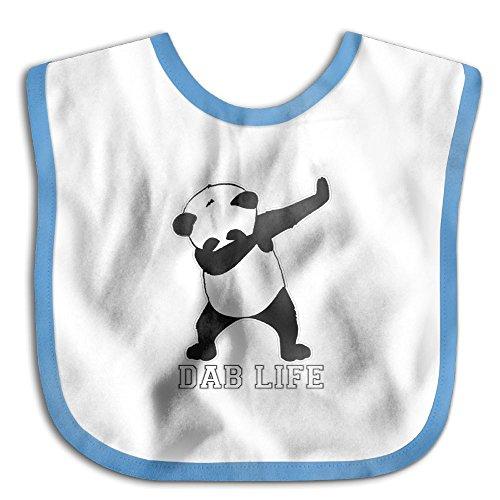 Price comparison product image Dab Life Panda Super Absorbent Cotton Toddler Baby Waterproof Saliva Towel Bibs