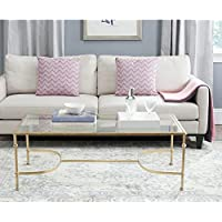Safavieh Home Collection Lucille Gold Coffee Table