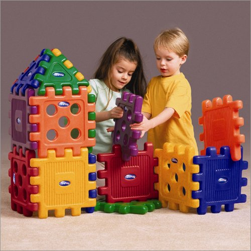Care Play Kids Baby Products Nursery Accessories Grid Blocks -16pc. Set