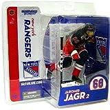 McFarlane Toys NHL Sports Picks Series 10 Action Figure Jaromir Jagr (New York Rangers) Blue Jersey