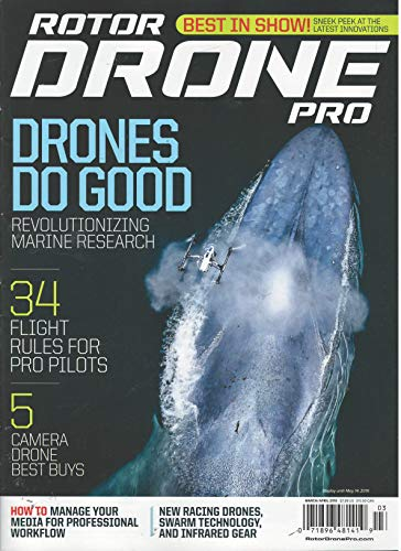 (Rotor Drone Pro Magazine March April 2019)
