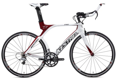 Kestrel 4000 Pro SL w/105 Complete Bicycle 2012 Pearlized White/Red 57.5cm (700C