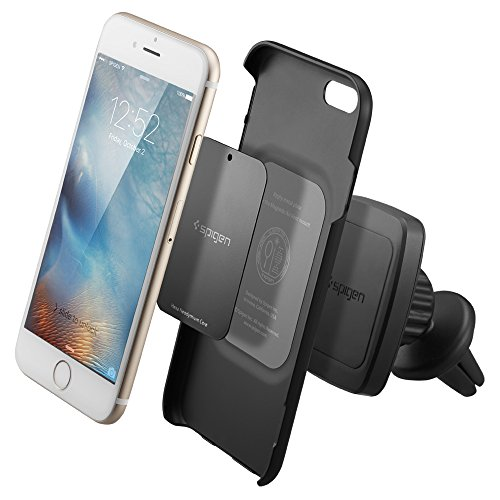 Spigen-A201-Car-Mount-Kuel-Hexa-Core-Premium-Magnetic-Air-Vent-Phone-Holder-Compatible-With-iPhone-7-7-Plus-6S-6S-Plus-Galaxy-S7-Galaxy-S7-Edge-LG-HTC-Nexus-And-More