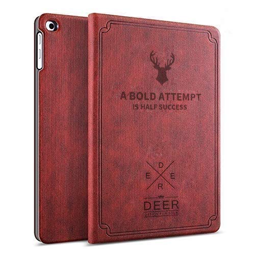 Robustrion Smart Flexible Flip Stand Case Cover for Lenovo Tab M10 HD TB-X505F TB-X505L TB-X505X Byju's Tab (Will Not Fit 605LC/605FC/M10 FHD Rel) – Deer Vine Red