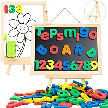 Amazon.com: JQP Letters Numbers Shapes and Colors Magnets