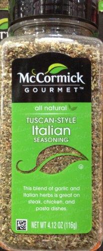 McCormick's Gourmet TUSCAN ITALIAN Seasoning Mix 4.12oz (2 Pack)
