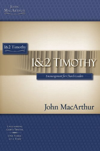 1 & 2 TIMOTHY (Macarthur Study Guide)