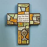 Abbey Press First Communion Cross - Holy Inspiration Faith Blessing Spirit 54688T-ABBEY by Abbey Press