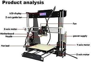 ANET A8 High Speed 40-120mm/sec Consumibles de impresión 0,1-0,4 ...