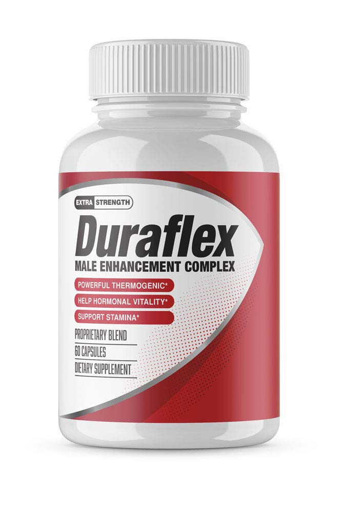 DuraflexMale - Male Support Complex - Natural Stamina, Endurance and Strength Booster