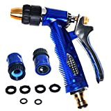 RAAYA GARDEN HOSE NOZZLE Heavy-Duty High-Pressure Flow Control - Equipped with Quick Connectors / Rubber Washer - Convenient Garden Watering and Car Washing – Maximum Satisfaction