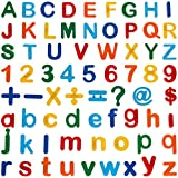 Anpro Magnetic Alphabet Letters and Number, 89PCS Magnetic Colorful Letters and Number for Preschool Education Learning, Spelling, Counting