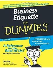Business Etiquette For Dummies