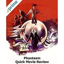 Review: Phantasm Quick Movie Review
