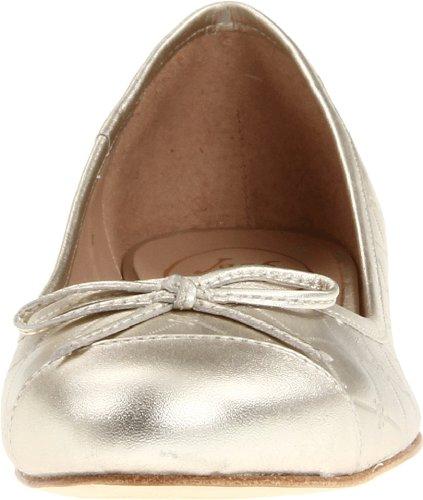 Jack Rogers Vrouwen Levendig Patent Ballet Plat Platina
