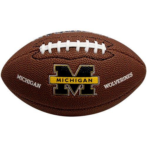 Michigan Wolverines Brown Football - 3