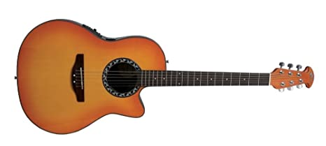 Ovation Applause (Balla Deer ab24hb Honey Burst electroacústica Guitarra acústica folk eléctrico