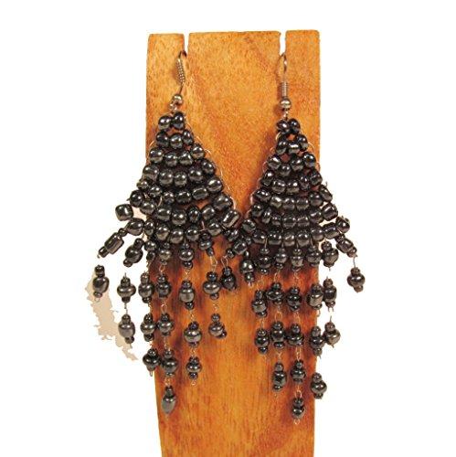 Hematite Bead Earrings - 2