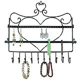 Generic NV_1008003224-DWX-US28 <8&32241> nger Jewellryzer Displ Organizer Display Wall Mount Heart Stand Rack Shape Jewelry Hook Hanger Jewellry Wall Mount He
